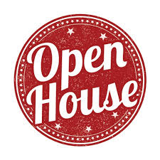 Open House 8/18/19 from 5:30-7:00 PM
